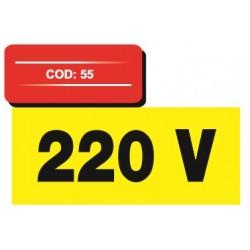 Autocolant vertical 220 v