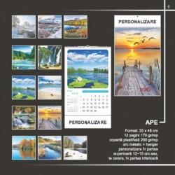 Calendar cu tematica apei