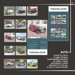 Calendar cu tematica masinilor de epoca