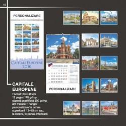Calendar cu capitalele lumii