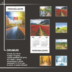 Calendar cu drumuri de sezon
