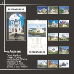 Calendar cu manastiri