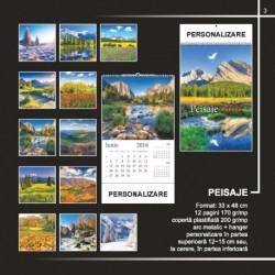 Calendar cu peisaje inflorite