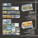 Calendar cu peisaje inflorite si ape