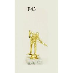 Figurina de aur F43