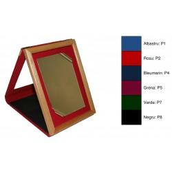 Mape din plus, cu fereastra din stiplex, cu rama din lemn rabatabila in trepied, pentru plachete