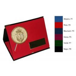 Mape din pluș cu trepied pentru medalii si placute