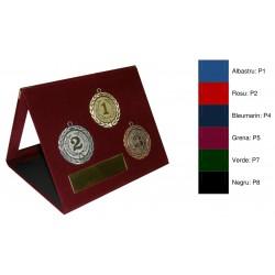 Mape din plus cu fereastra din stiplex si trepied, pentru medalii si placute