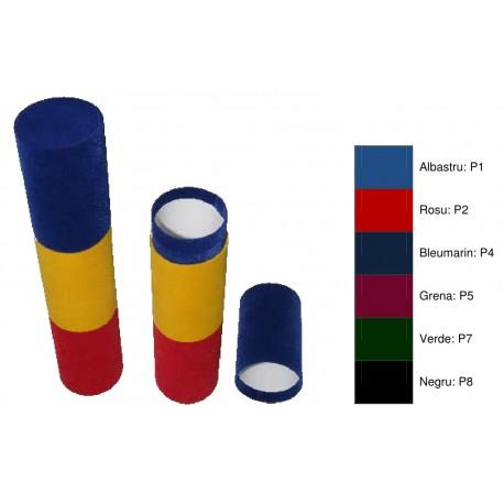 Tub din plus, tricolor, pentru diploma A4